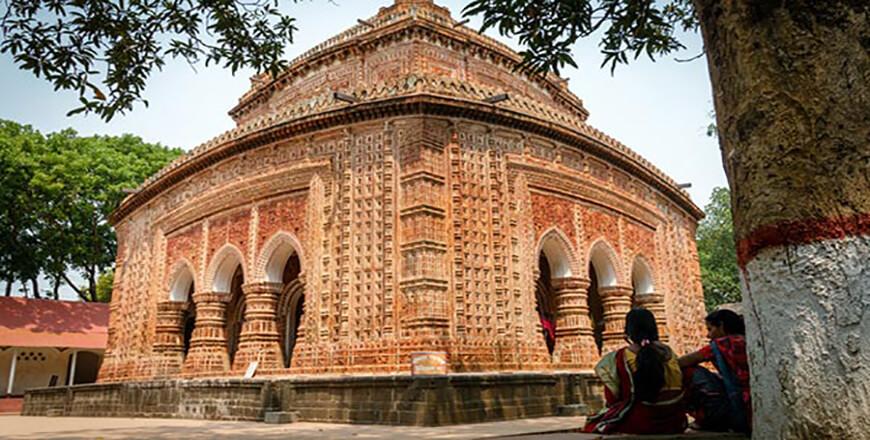 Kantajew Temple at Kantanagar Dinajpur Bangladesh