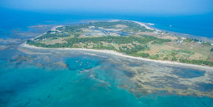 Saint Martins Island Tourist Spot in Bangladesh