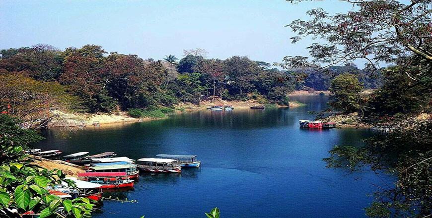 Foys Lake is an an amusement spot in Chittagong Bangladesh