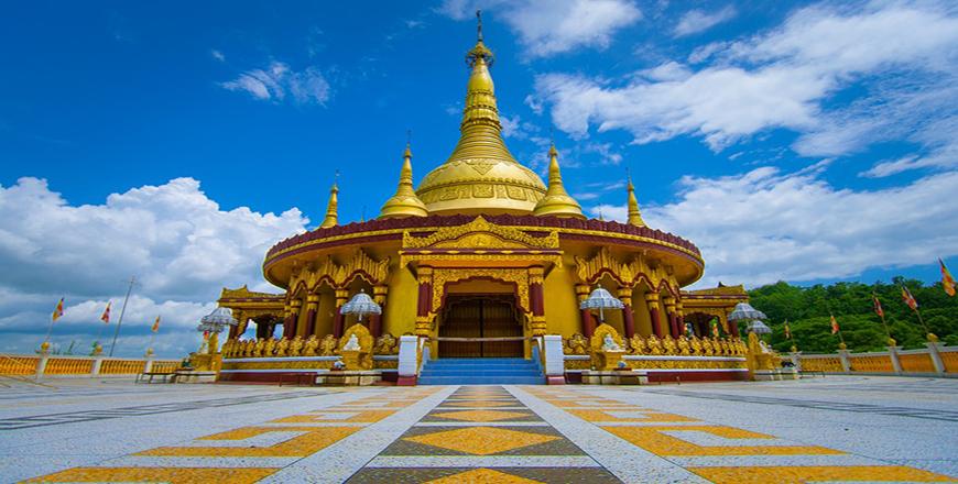 Bandarban Golden Temple is a Buddhist pagoda in Bangladesh