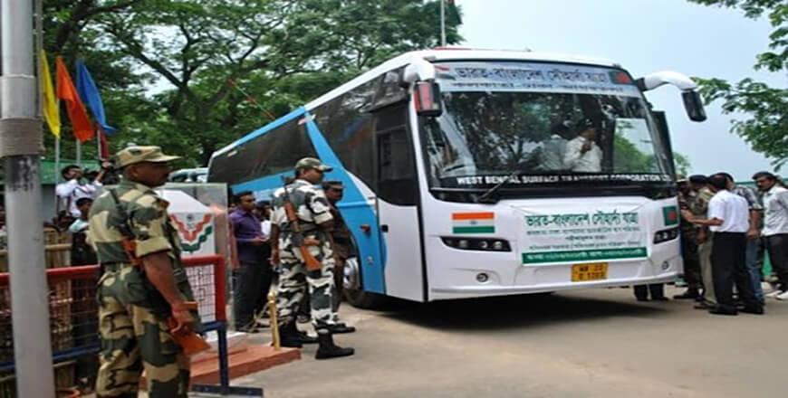 Dhaka Kolkata Travel routes from Bangladesh to India